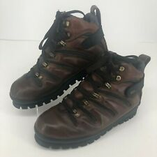 Lugz Brown Leather Lace Up Shoes Style MEC 69 MENS SIZE 10.5