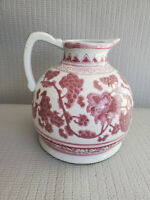Vintage or Modern  Chinese Ceramic Pottery Pitcher 7.75'' T ~ 7'' W