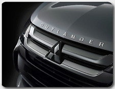 Mitsubishi Outlander bonnet decal - platinum silver - free postage!