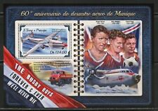 Sao Tome 2018 60th Anniversary Of The Munich Air Disaster Souvenir Sheet Mint