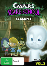 CASPER'S SCARE SCHOOL: Season 1: Volume 2 DVD TV SERIES FAMILY BRAND NEW R4