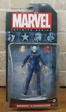 Marvel Infinite Chameleon Action Figures Brand new Xmen spiderman