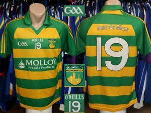 Baile Na Maor Ballinamere Gaa O'Neills #19 Home Jersey Shirt Gaelic Hurling Eire