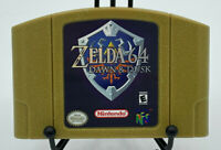 Zelda 64 Dawn & Dusk   Nintendo 64 rare Gold Cart   USA Seller