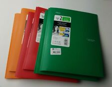 Mead Five Star 2 Pocket & Prong Folder with stay- put tabs- Lot of 6