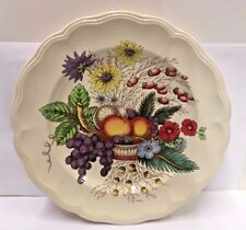 """Spode China REYNOLDS 13"""" Chop Plate (Brown Back Stamp) GOOD More Items Available"""