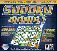 Sudoku Mania! PC Games Windows 10 8 7 XP Computer unlimited puzzles NEW