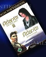 Atlantis III 3 el mundo nuevo revolución & = Collectors Edition PC alemán