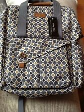 NWT HapTim Multi-function Baby Diaper Bag Backpack W/ Stroller Straps Insulated