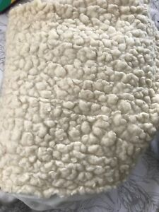 Minijumbuk Wool Sheep cot Fitted mattress underlay