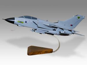 Panavia Tornado GR4 RAF IX Squadron Solid Kiln Dry Mahogany Wood Airplane Model