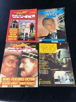 Lot of  4 Doctor Who Vintage Weekly and Monthly Magazines