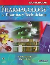 Workbook for Pharmacology for Pharmacy Technicians-ExLibrary