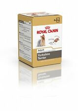 24 Royal Canin Yorkshire Terrier Pouches Wet Dog Food ( 2 X 12 )