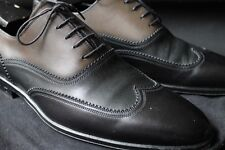 MEET ME IN ST Louis Vuitton Black Brown Two Tone Spectator Austerity Wing Tip
