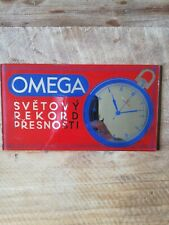 Omega watch advertising Czech Republic