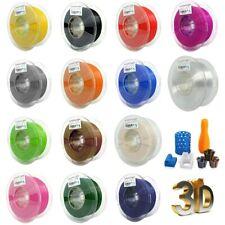 PLA Filamento De Impresora 3D Printer 1kg 1.75mm 330M Metálico Multicolor DIY ES