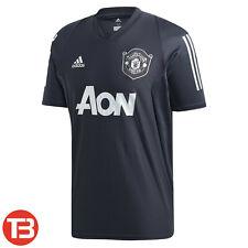 adidas Manchester United Herren Training Shirt Fussball Jersey Trikot DX9007 NEU