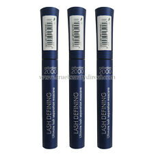 3 x COLLECTION 2000 LASH DEFINING CERAMIDE MASCARA BLACK 1 SUPER FINE BRUSH NEW