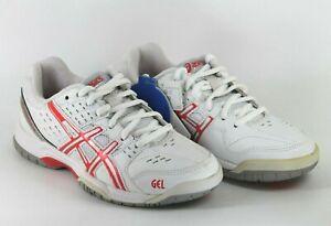 Asics Gel Dedicate 3 Womens UK 3 EU 35.5 White Diva Pink Tennis Shoe Trainers