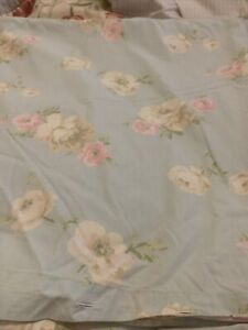 "Laura Ashley ""BRAMWELL"" King Size Duvet Set Duck Egg"