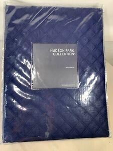 Hudson Park Collection DOUBLE DIAMOND COVERLET NEW