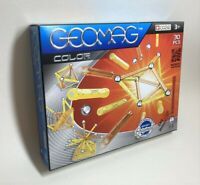 New GEOMAG Color Colour 30 Piece Set Safe Magnetic Pieces 1:1 Swiss Made Set