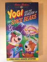 Yogi And The Invasion Of The Space Bears VHS - Hanna-Barbera 1991 - NEW