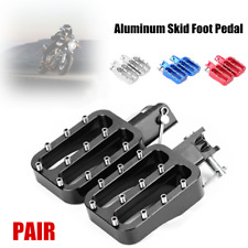 Motorcycle Bike Color Universal CNC Nail Non-slip Foot Pedal Prevention Footrest