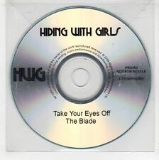 (GJ596) Hiding With Girls, Take Your Eyes Off The Blade - DJ CD