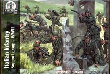 Waterloo 1815 Miniatures 1/72 ITALIAN WWII INFANTRY SUPPORT GROUP Figure Set