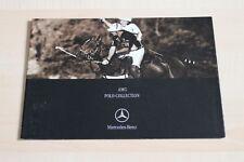 96383) Mercedes AMG Polo-Collection Prospekt 02/2002