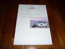 Honda Civic Coupe Prospekt 06/2002