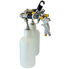 Paasche Lms-2-14B Dual Head Spray Gun For Silvering / Chroming With Bottles
