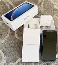 Apple iPhone XR - 128GB - Blue (Unlocked -CDMA + GSM) ++ MINT ++