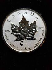 2013 1 oz Silver Canadian Lunar Snake Privy