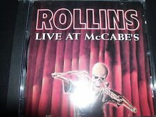 Henry Rollins – Live At McCabe's CD