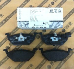 PASTIGLIE FRENI ANTERIORI ORIGINALI AUDI A2 A3 VW POLO BEETLE GOLF 4 5 6 PLUS