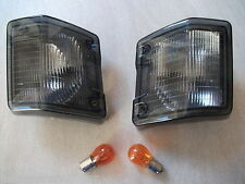 VW Transporter T25 / T3 Smoked Front Indicators Pair 1980-90 Type 25 +