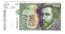 Spagna Spain 1000 1.000 pesetas   1992 1996 FDS UNC pick 163     lotto 2532