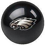 Philadelphia Eagles Shift Knob Billiard Pool Ball NFL Threaded Custom Shifter