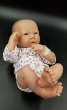 "Berenguer Girl Life Like Baby Doll Bent Knee 12"" Newborn Reborn 22-07 Used"