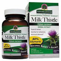 Nature s Answer  Milk Thistle  60 Vegetarian Capsules