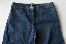 Auth Chanel Blue Denim Jeans Pants Size 36