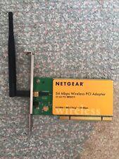 Netgear WG311 54Mbps - PCI Wireless Network Adapter WLAN Card