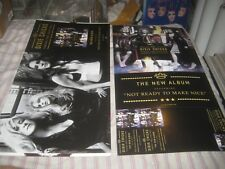DIXIE CHICKS-(taking the long way)-1 POSTER FLAT-2 SIDED-12X24 INCHES-NMINT-RARE