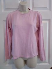 Horny Toad Athletic active Shirt top Womens pink small zipper pocket
