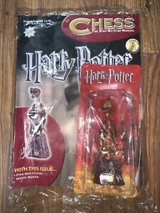 HARRY POTTER CHESS PIECE COLLECTION - The Step By Step Manual - Issue 49