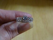 Fragrant Jewels Queen of Diamonds Ring Collection Size 7