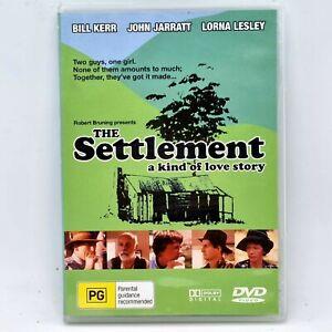 THE SETTLEMENT DVD Region 4 1983John Jarratt Bill Kerr Aus Classic Free Post